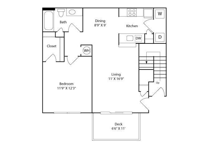 The Roanoke Floor Plan 1