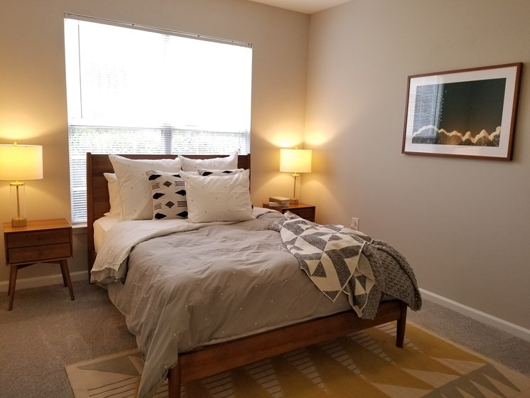 Comfortable Bedroom at The Enclave at Crossroads, Raleigh