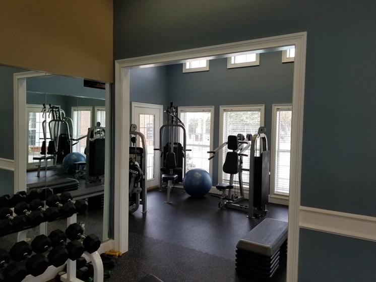Club-Quality Fitness Center at The Enclave at Crossroads, Raleigh, North Carolina
