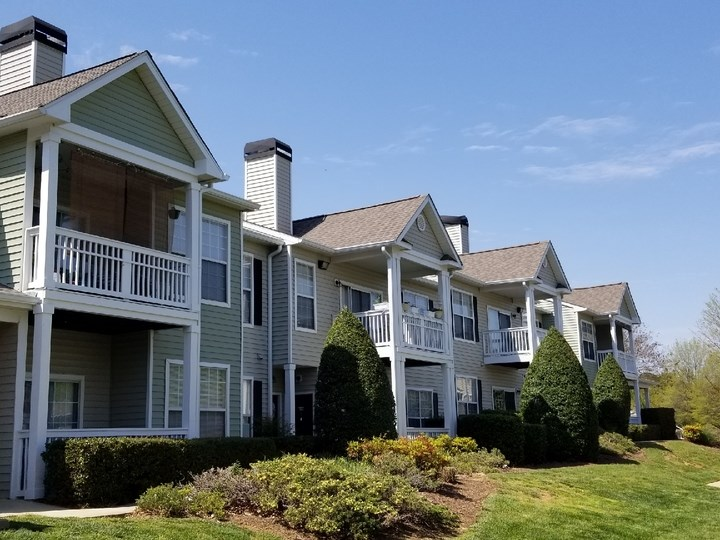 Elegant Exterior View at The Enclave at Crossroads, North Carolina