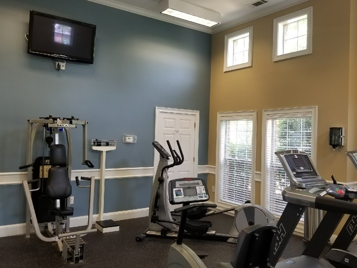 Modern Fitness Center at The Enclave at Crossroads, Raleigh, NC, 27606