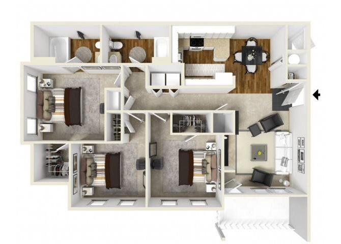 CHAPEL HILL Floor Plan 6