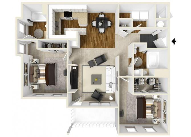 DUKE Floor Plan 5