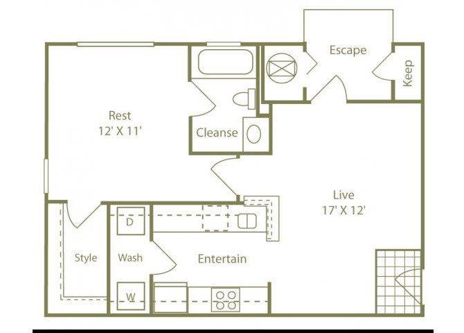 The Cape Cod Floor Plan 1