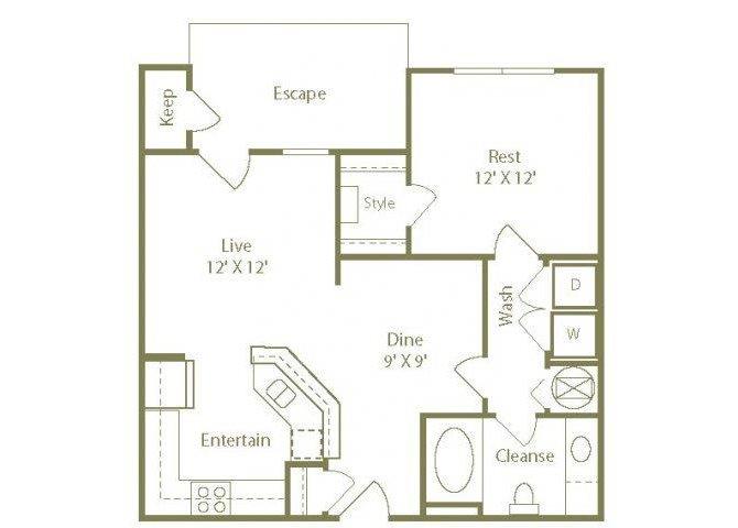 The Harbor Floor Plan 2