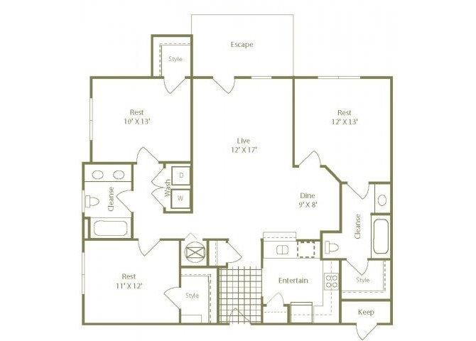 The Nantucket Floor Plan 5