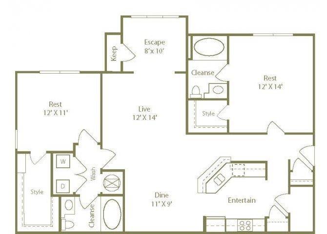 The South Hampton Floor Plan 4