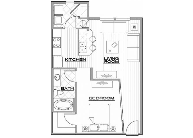 The Somerset Floor Plan 1