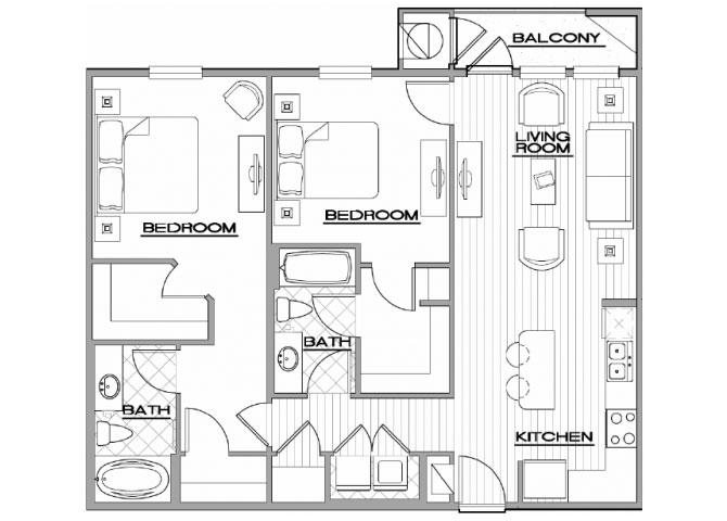 Whitehall Floor Plan 4