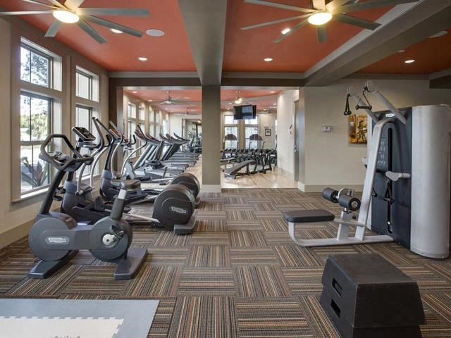 24 Hour Health and Fitness Club including TVs and Cardio and Weight Training at The Ivy Residences at Health Village, Orlando, FL 32804