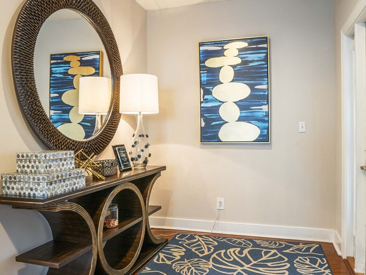 Lounge seating and amble entertaining space in our new Clubhouse at The Lexington Apartments, Nashville, TN 37209