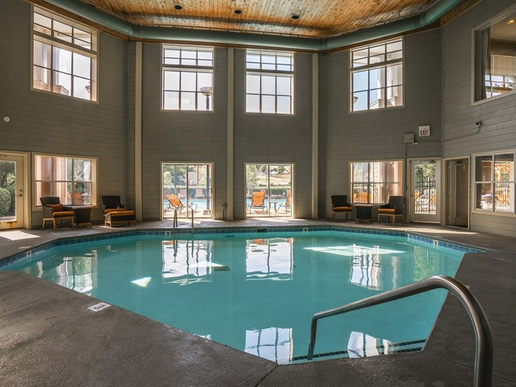 Enjoy Year Round Indoor Heated Pool at The Lexington Apartments, Nashville, TN 37209