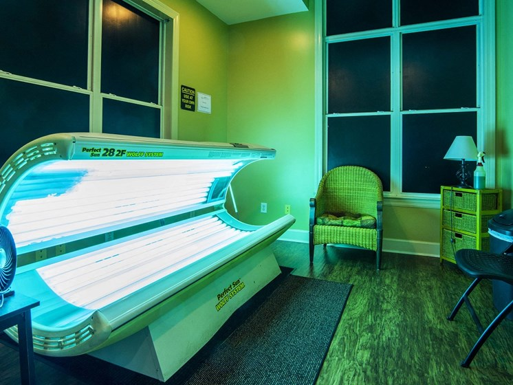 Tanning Salon for Private Resident Use Only at The Lexington Apartments, Nashville, TN 37209