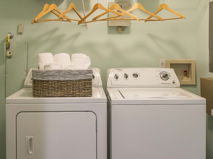Laundry Convenience with Washer and Dryer in All Units at The Lexington Apartments, Nashville, TN 37209