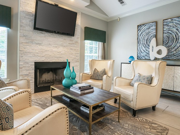 Large spacious and newly renovated Clubhouse just for our residents at The Overlook Apartments Homes, Antioch, TN 37013