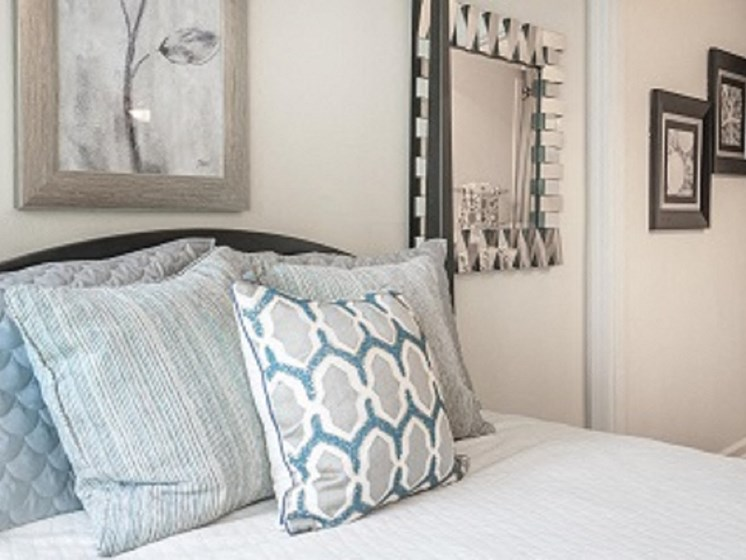 Master Bedroom Feels Large and Spacious with Large Walk-In Closets at The Overlook Apartments Homes, Antioch, TN 37013