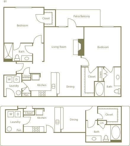 B1A Floor Plan 6
