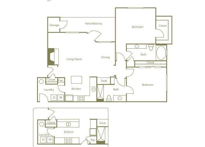 B3 Floor Plan 8