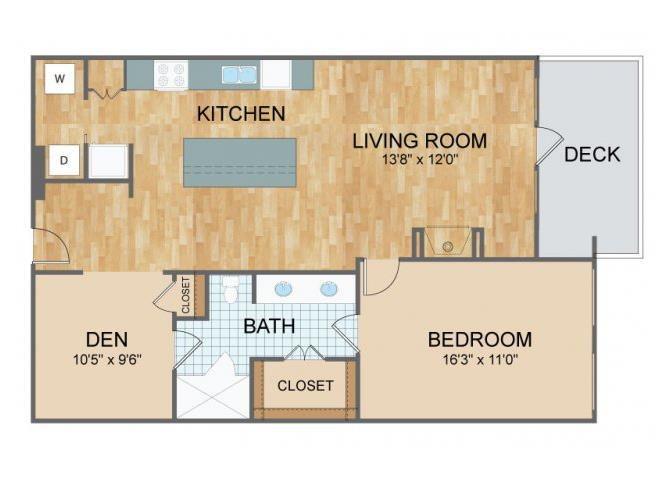 Axis Lofts - A1 Floor Plan 1