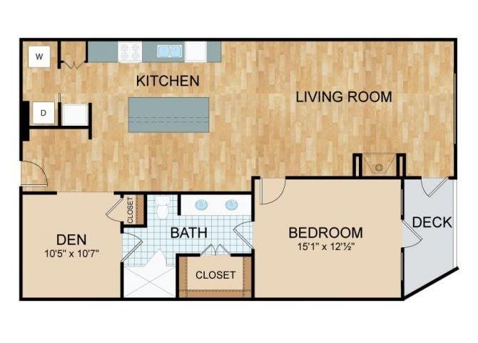 Axis Lofts - B1 Floor Plan 2