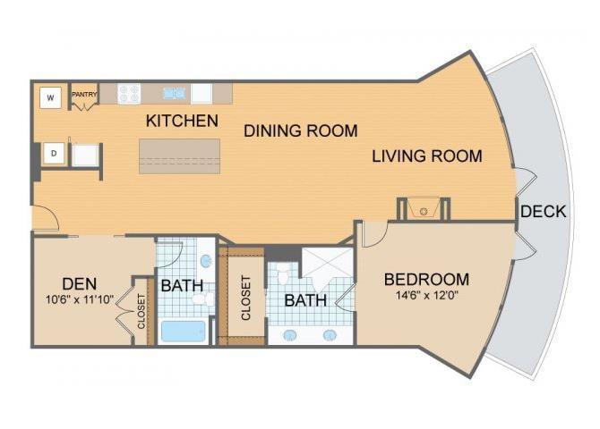 Axis Lofts- B2 Floor Plan 3