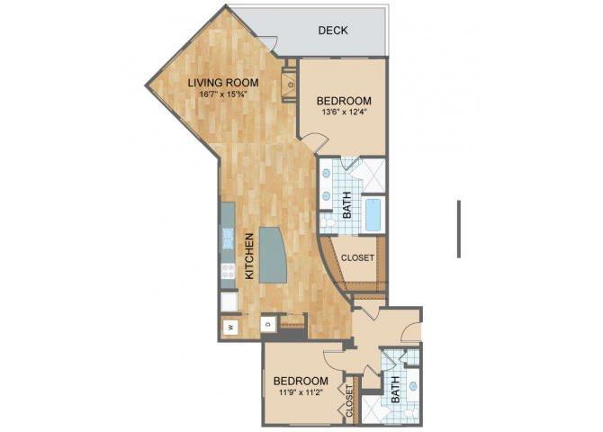 Axis Lofts - C1 Floor Plan 4