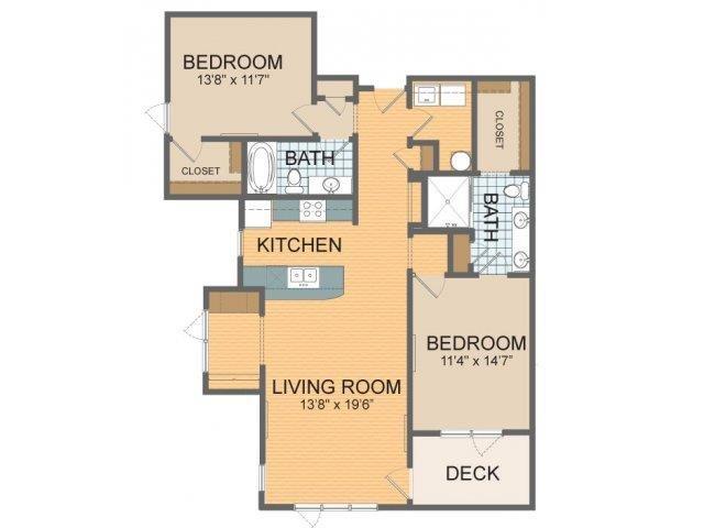 Parkside - D Floor Plan 17
