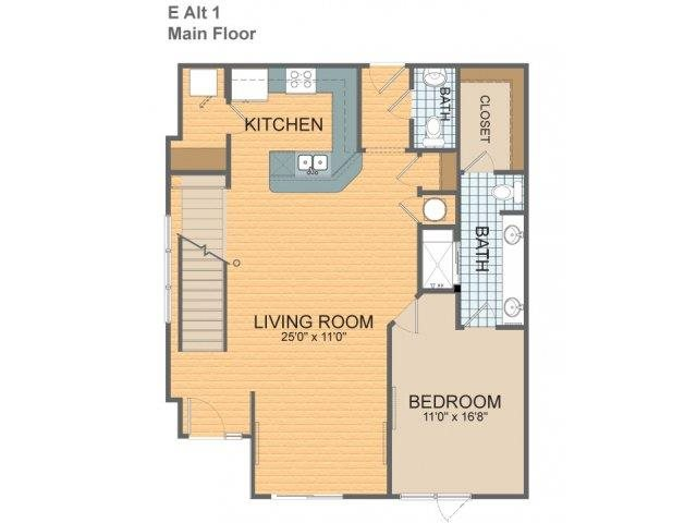 Parkside Townhome E - Alt 1 & 2 Floor Plan 21