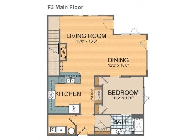 Parkside Townhome - F3 Floor Plan 25