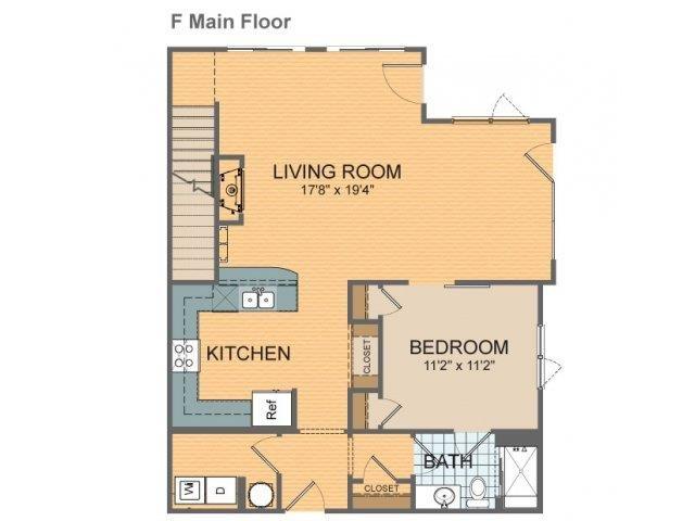 Parkside Townhome- F1 Floor Plan 23