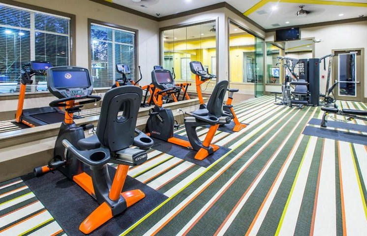 High Endurance Fitness Center with Aerobics Studio at Twenty25 Barrett Apartments, Kennesaw, GA 30144