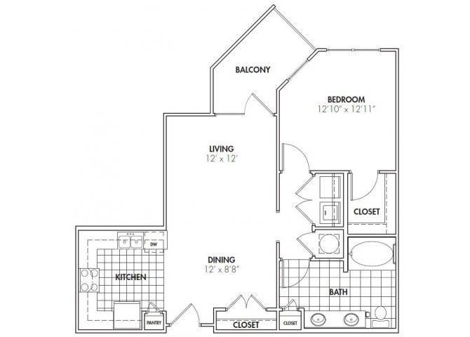 CHATEAU Floor Plan 3