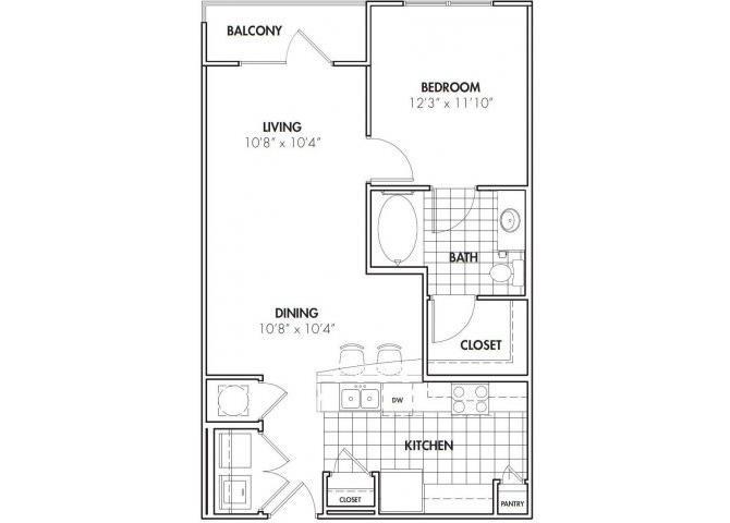 GEORGETOWN Floor Plan 1
