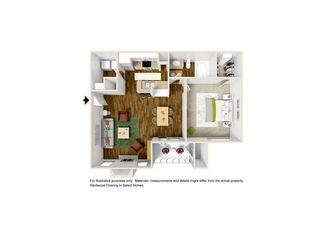 AREZZO Floor Plan 3