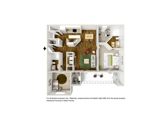 CORTONA Floor Plan 6