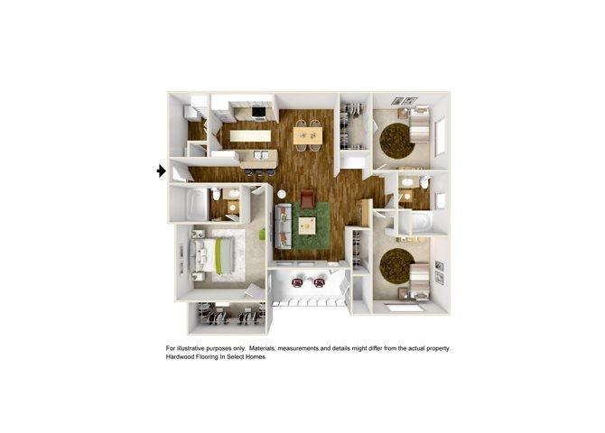 FLORENCE Floor Plan 8
