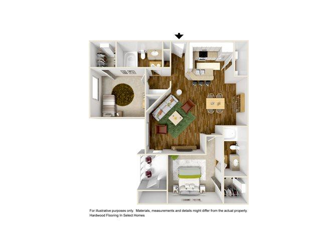 LUCCA Floor Plan 4