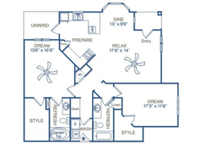 THE HABERSHAM Floor Plan 12