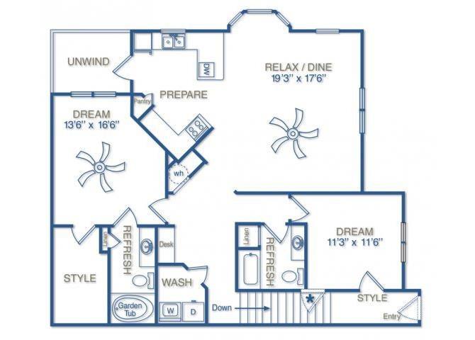 THE PARK AVENUE Floor Plan 14