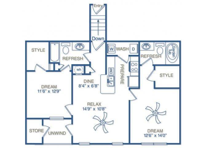 THE TELFAIR Floor Plan 9