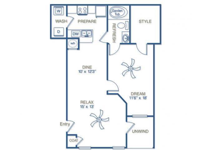 THE VICTORY Floor Plan 2