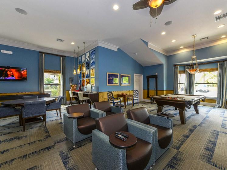 Clubhouse Interior at Villas at Park Avenue, Pooler, Georgia