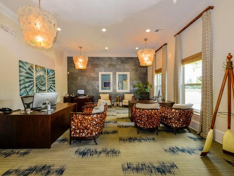 Clubhouse Interior at Villas at Park Avenue, Pooler, GA, 31322