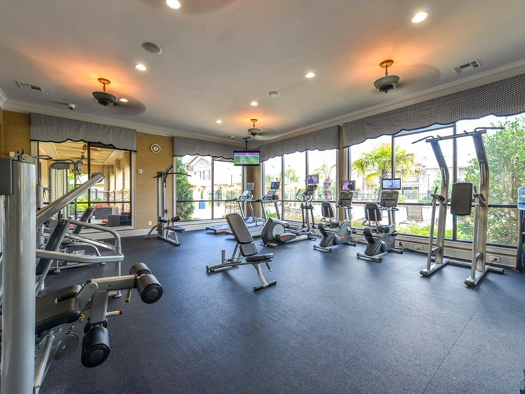 Fitness Room at Villas at Park Avenue, Pooler, Georgia