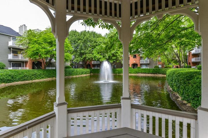 Peaceful Community with Gorgeous Landscaping and Gazebos Offering Tranquil Oasis Overlooking Each Lake at Waterford Place Apartments, Louisville, KY 40207