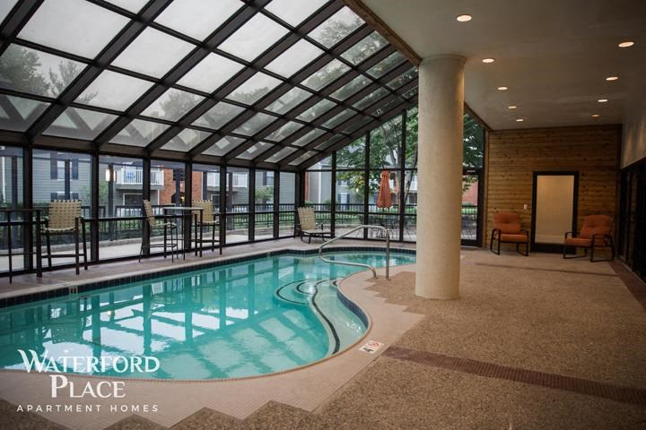 Enjoy Year Round Indoor Heated Pool at Waterford Place Apartments, Louisville, KY 40207