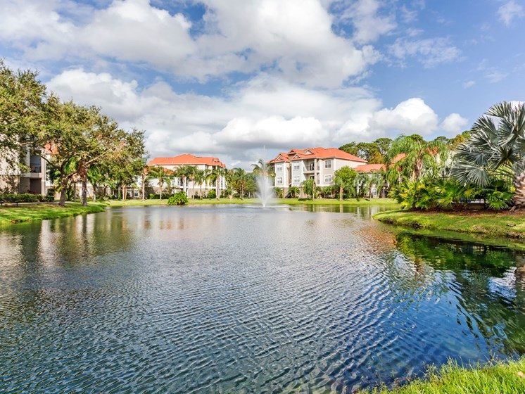 Enjoy a Relaxing Stroll on the Walking Trail Surrounding the Gorgeous Lake at Westlake Apartment Homes, Sanford, FL 32771