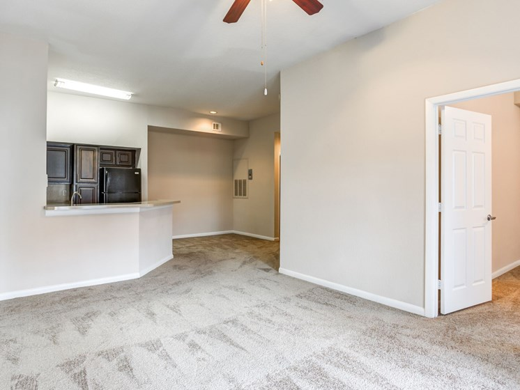Large Open Floorplans with Vaulted Ceilings (In Select Units) in Living Areas at Westlake Apartment Homes, Sanford, FL 32771