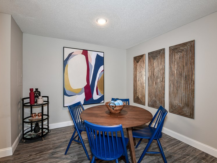Spacious dining room at 15Seventy, Chesterfield, MO 63017