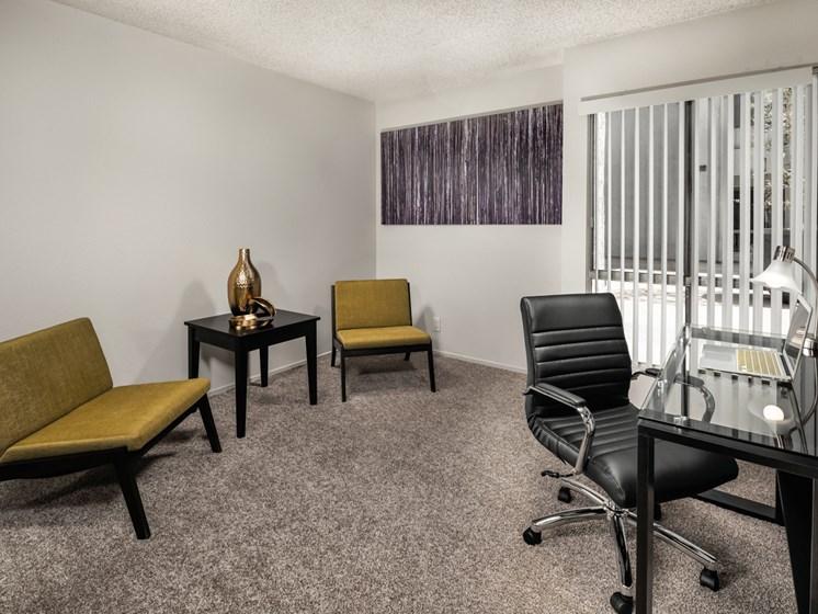 Separate Office Room at Warner Villa, Woodland Hills, CA
